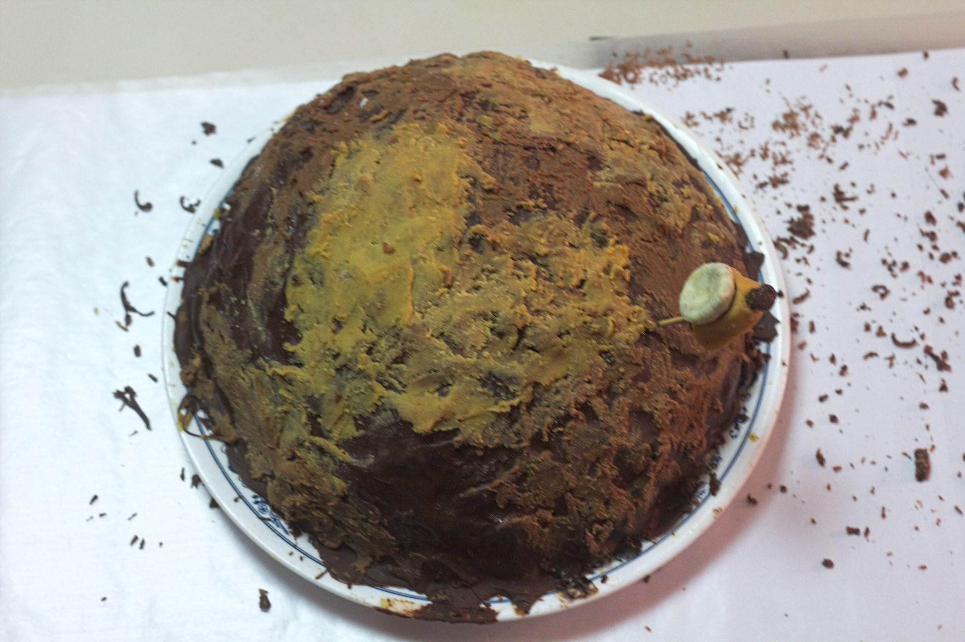 Fabulous The Pluto Cake Zhackers Funny Birthday Cards Online Amentibdeldamsfinfo